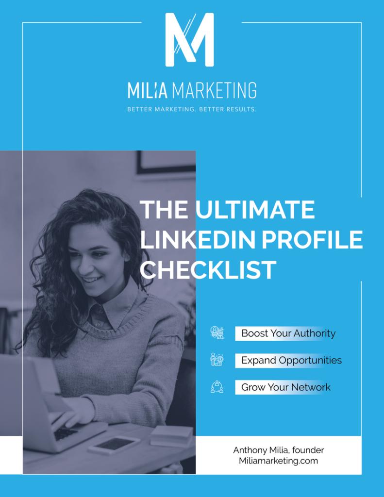 The Ultimate LinkedIn Profile Checklist