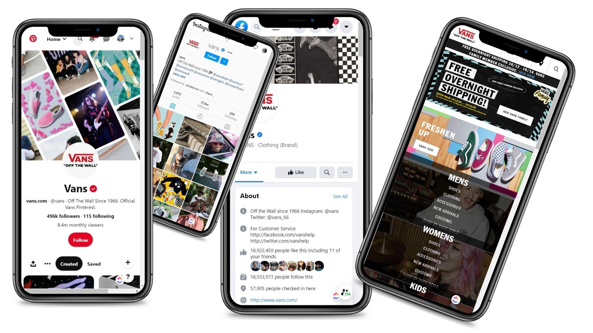 Vans Social Media Pop Up Event Mobile Responsiveness